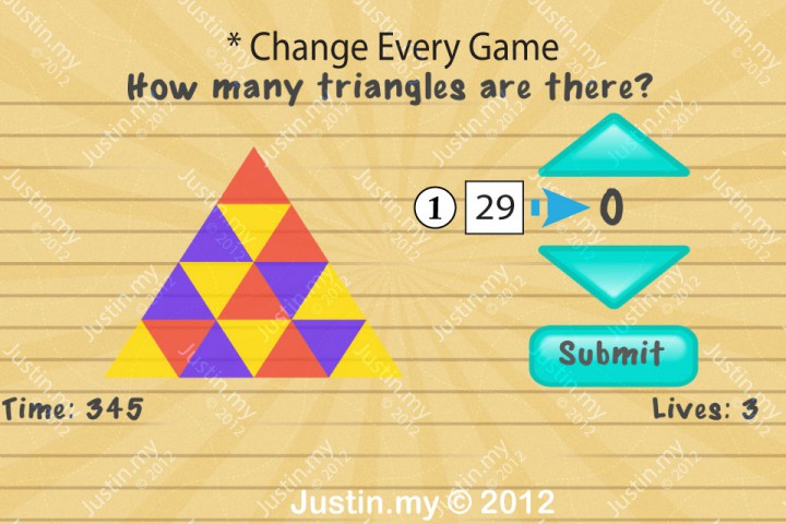 Impssible Test 2 - How many triangles are there?