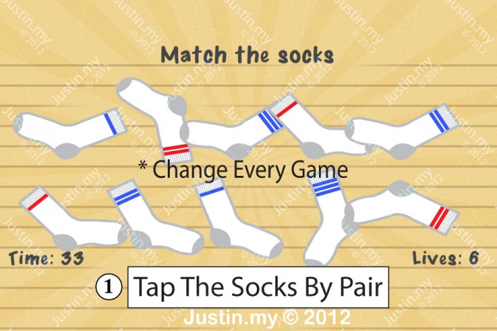 Impssible Test 2 - Match the socks