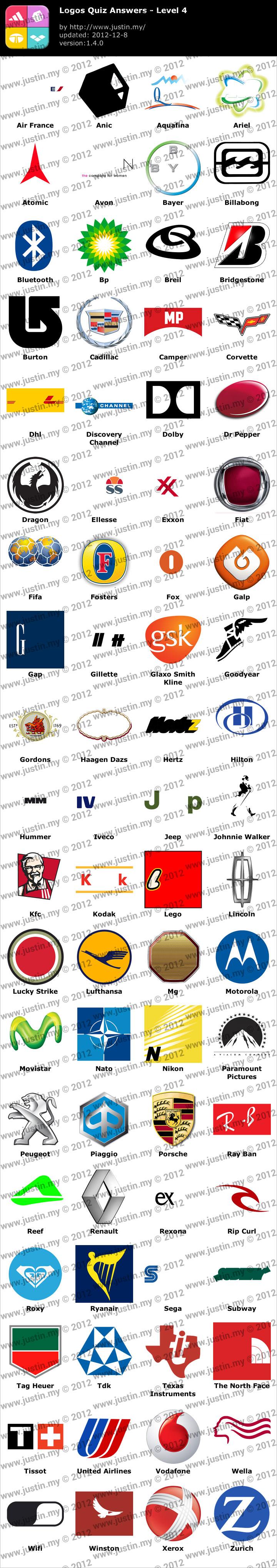 Logos Quiz Level 4