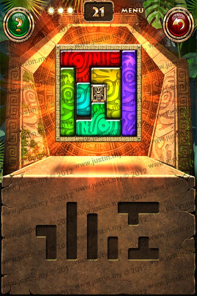 Montezuma Puzzle Level 21