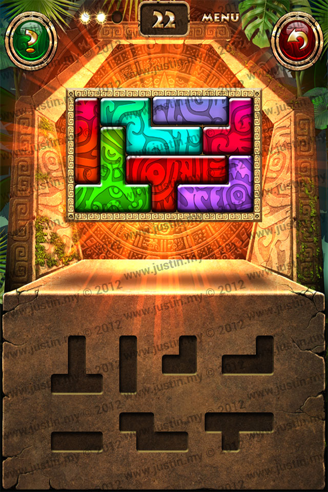 Montezuma Puzzle Level 22