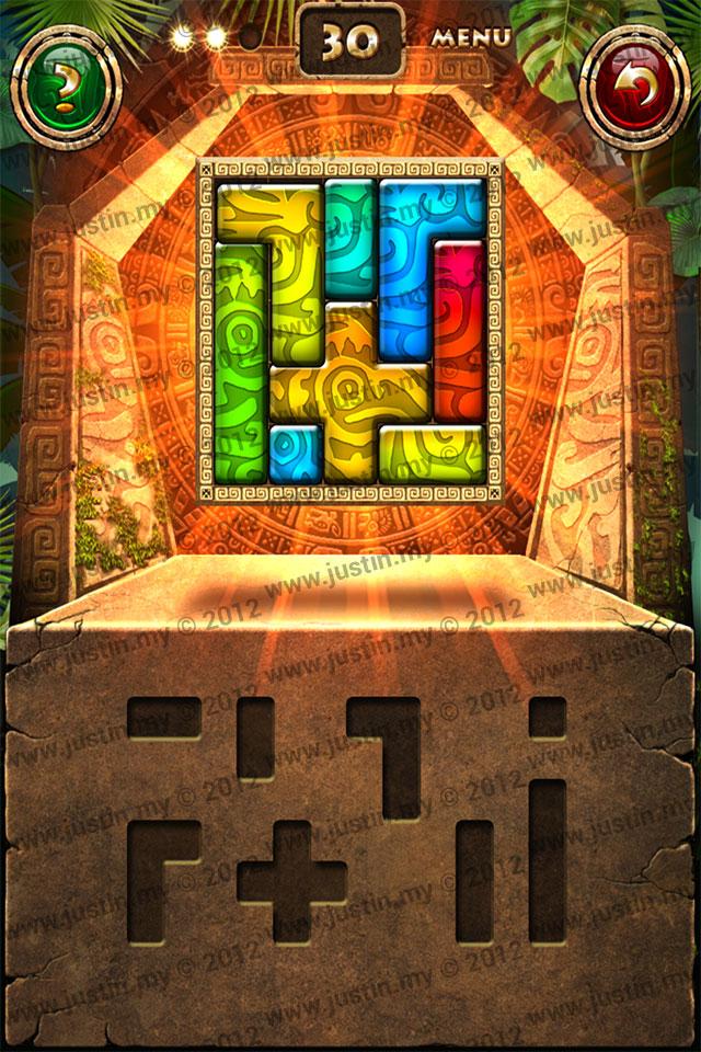 Montezuma Puzzle Level 30