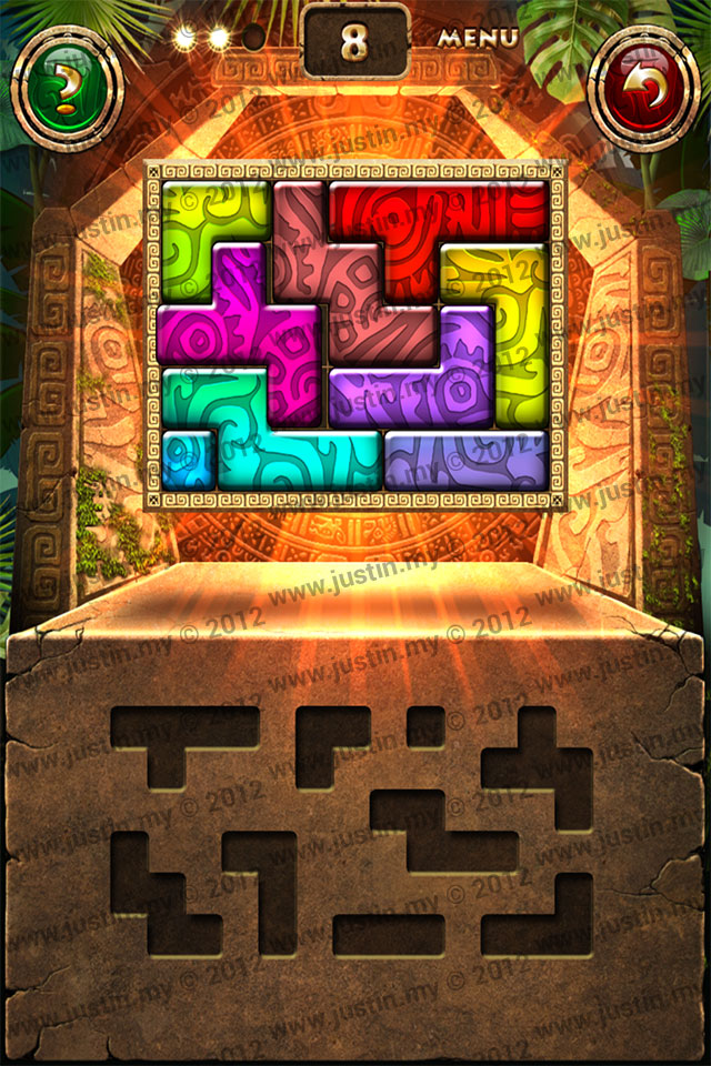 Montezuma Puzzle Level 8