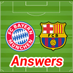 Soccer Quiz Answers