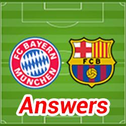 Soccer Quiz Answers