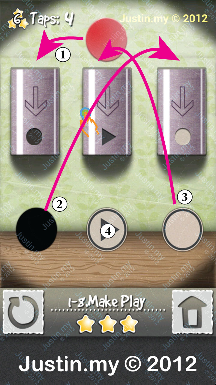 Tap Play Level 1-8