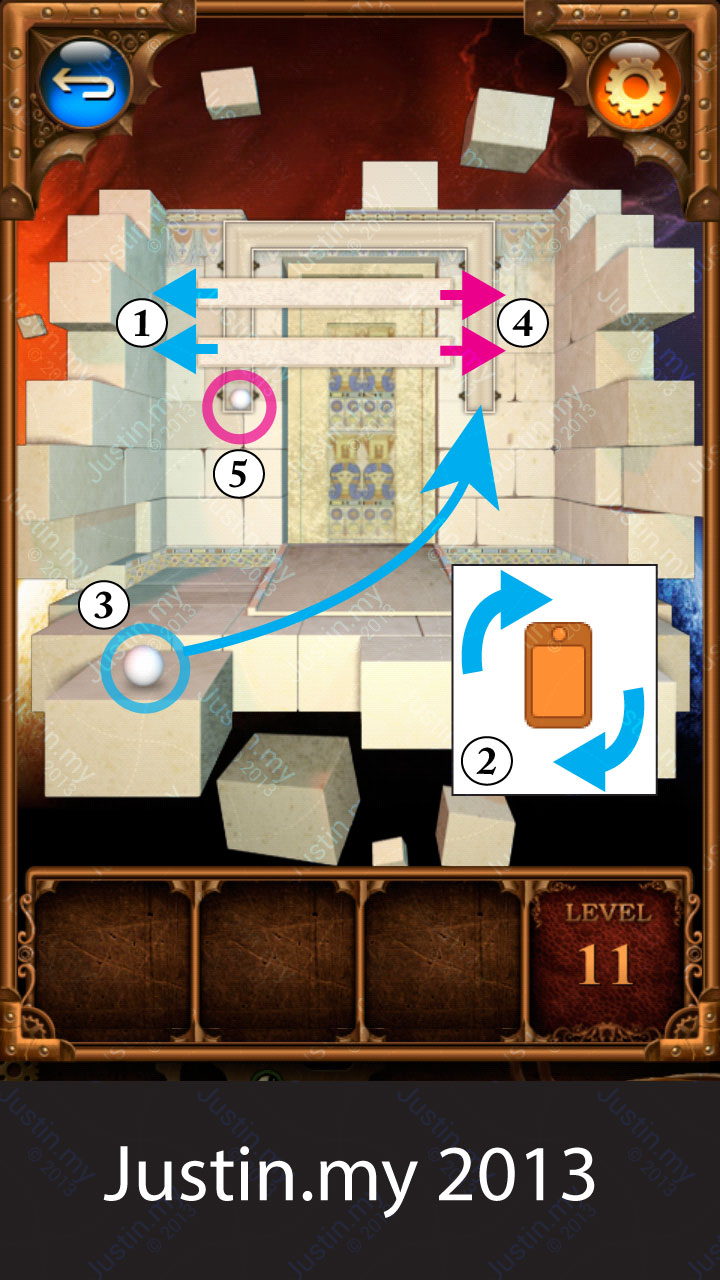 100 Doors Parallel Stage 1 Level 11