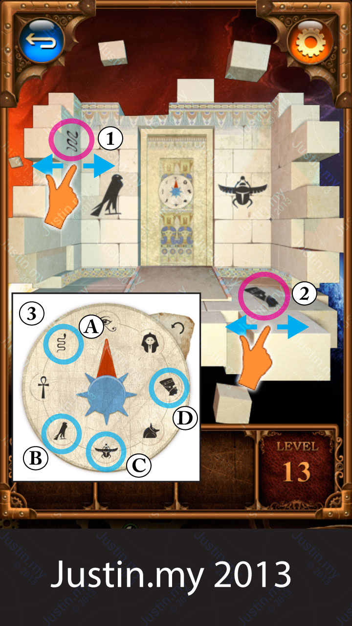 100 Doors Parallel Stage 1 Level 13
