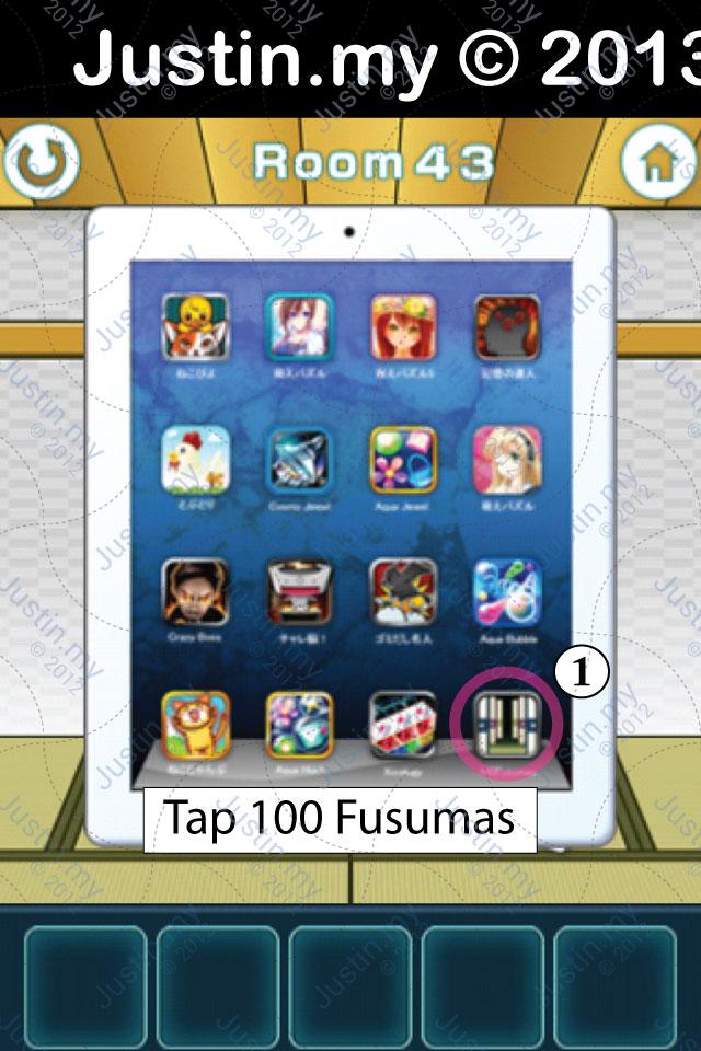 100 Fusumas Room 43
