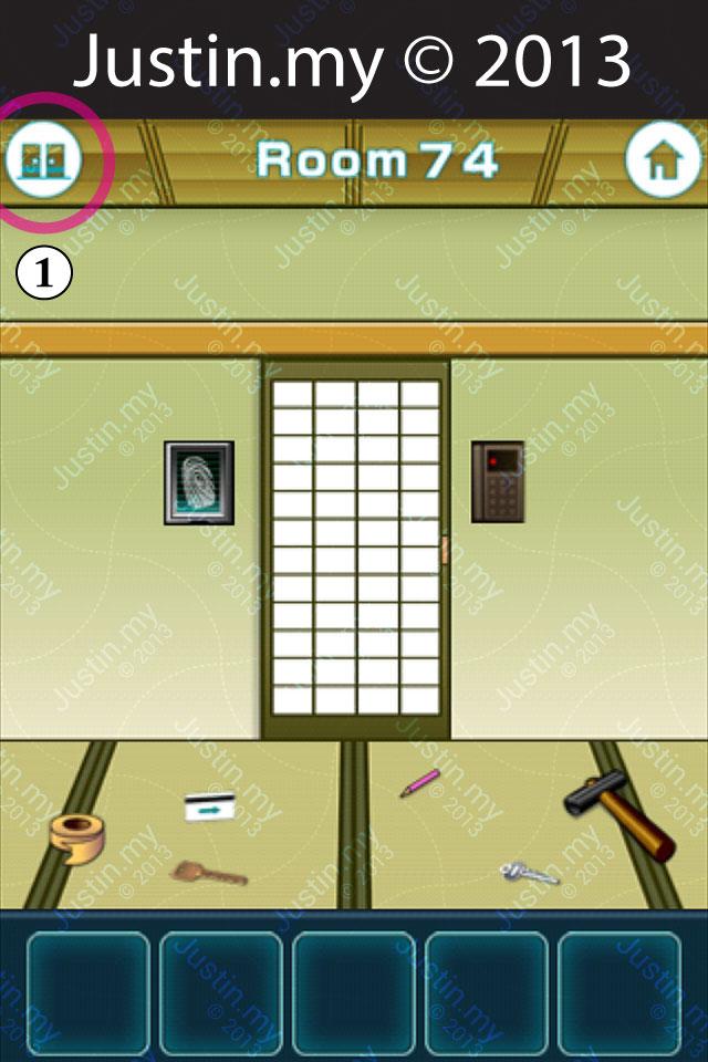 100 Fusumas Room 74