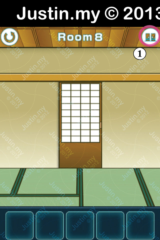 100 Fusumas Room 8