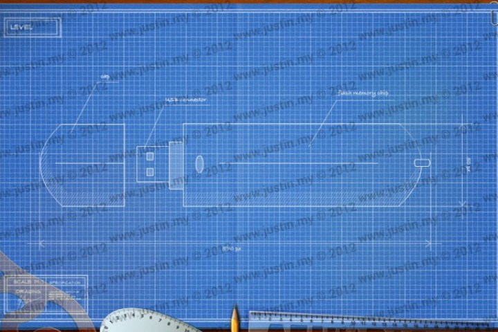 BluePrint 3D Electronic Level 1