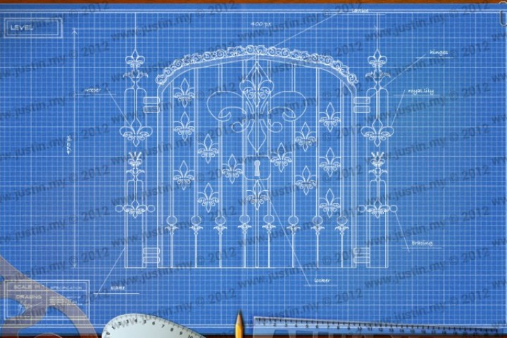 BluePrint 3D Medieval Level 36
