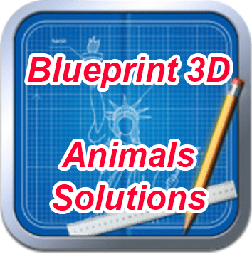 Blueprint 3D Animals Solutions