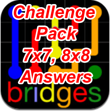 Flow Bridges Challenge Pack 7x7