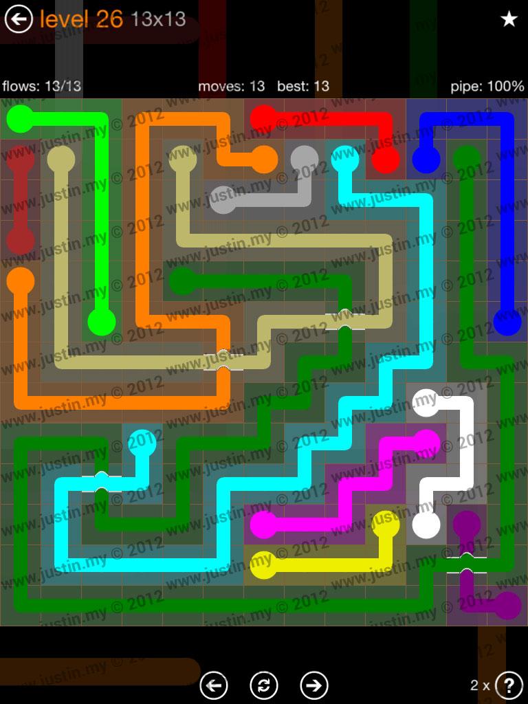 Flow Bridges Jumbo Pack 13x13 Level 26
