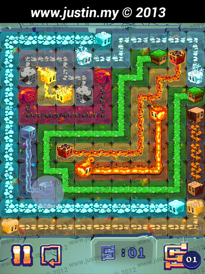 Lost Cubes 11x11 Level 19