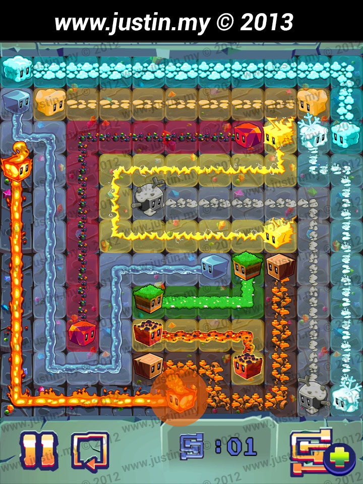Lost Cubes 11x11 Level 32