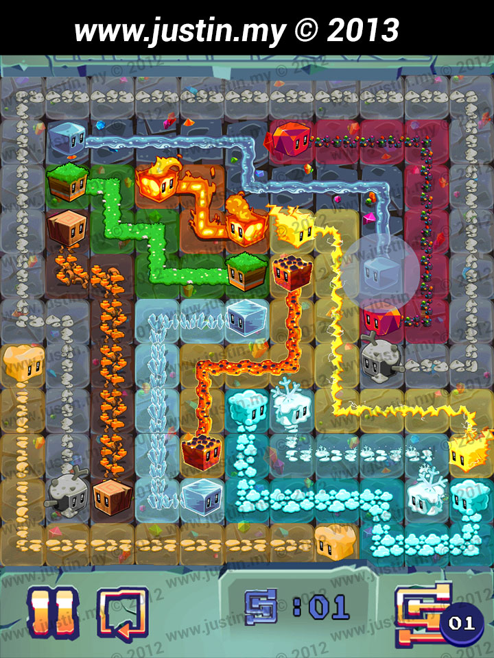 Lost Cubes 11x11 Level 4