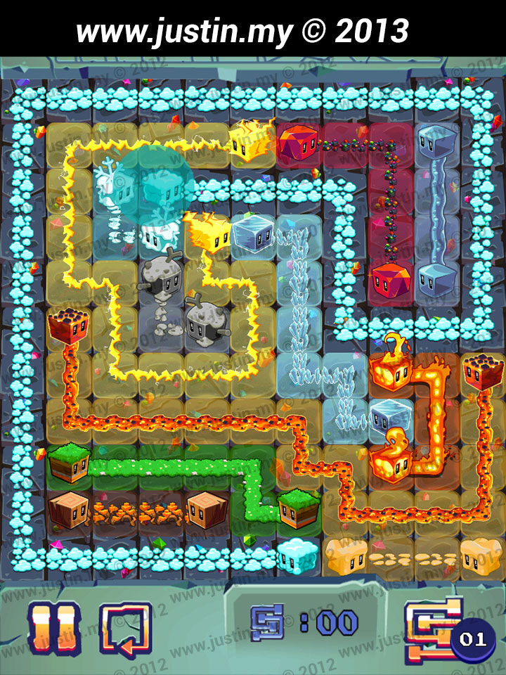Lost Cubes 11x11 Level 6