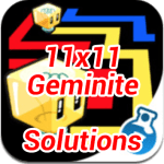 Lost Cubes 11×11 Geminite Cheats