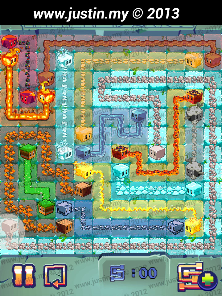 Lost Cubes 12x12 Level 13