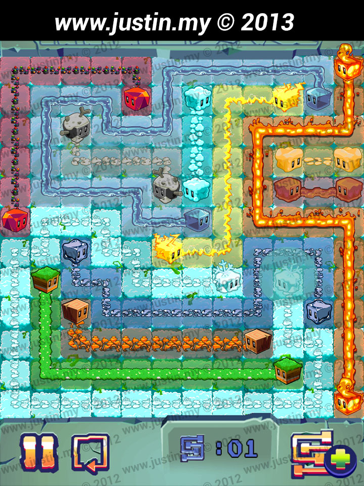Lost Cubes 12x12 Level 24