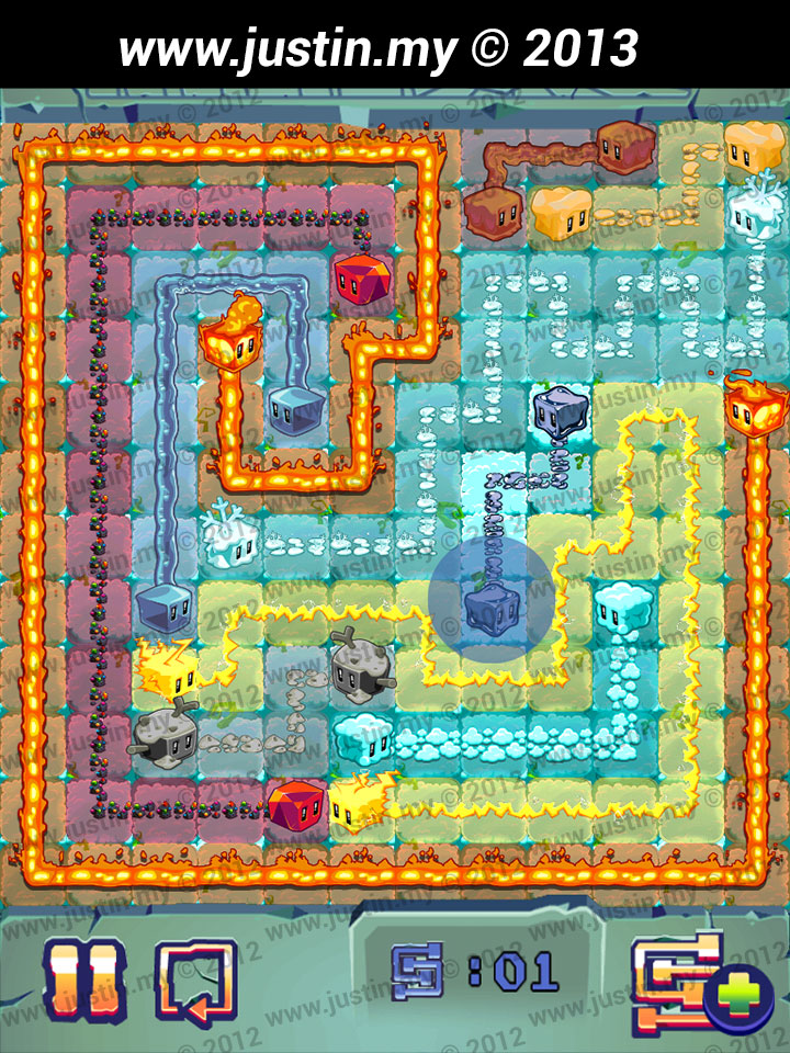 Lost Cubes 12x12 Level 29