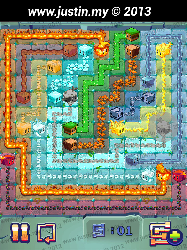 Lost Cubes 12x12 Level 6