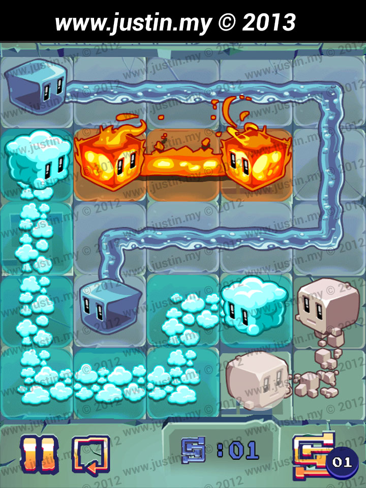 Lost Cubes 5x5 Level 24