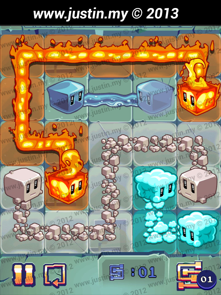 Lost Cubes 5x5 Level 32
