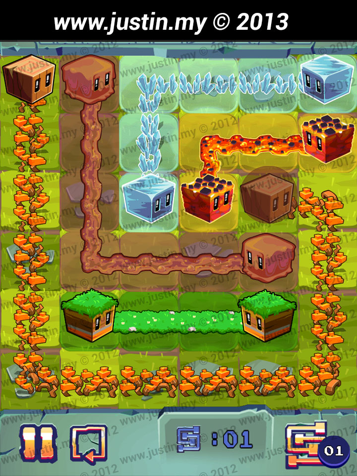 Lost Cubes 6x6 Level 20
