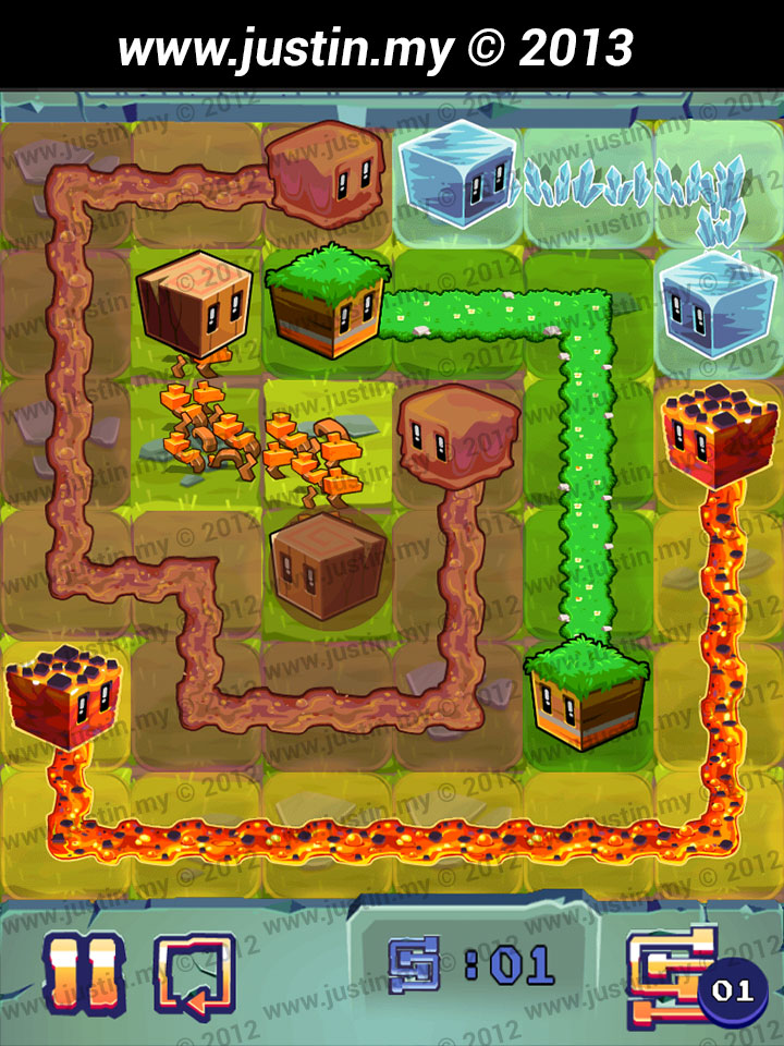 Lost Cubes 6x6 Level 8