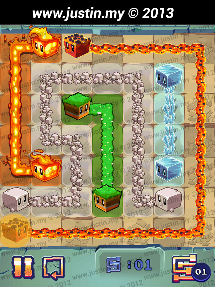 Lost Cubes 7x7 Level 27