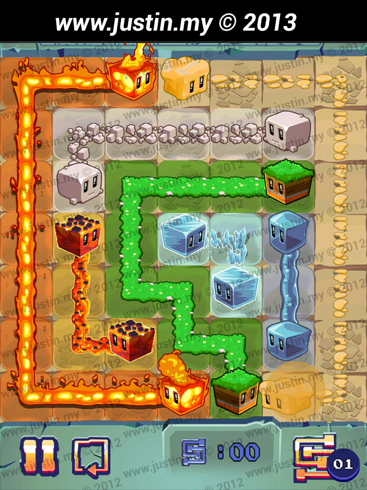 Lost Cubes 7x7 Level 32