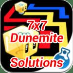 Lost Cubes 7×7 Dunemite Cheats