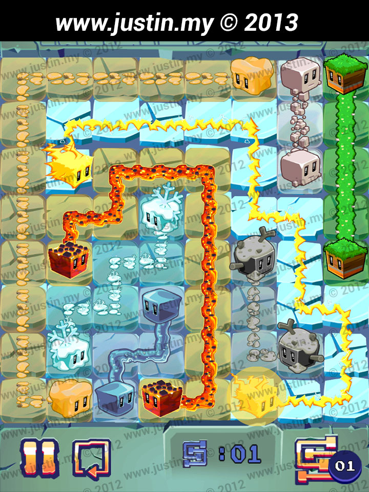 Lost Cubes 8x8 Level 21