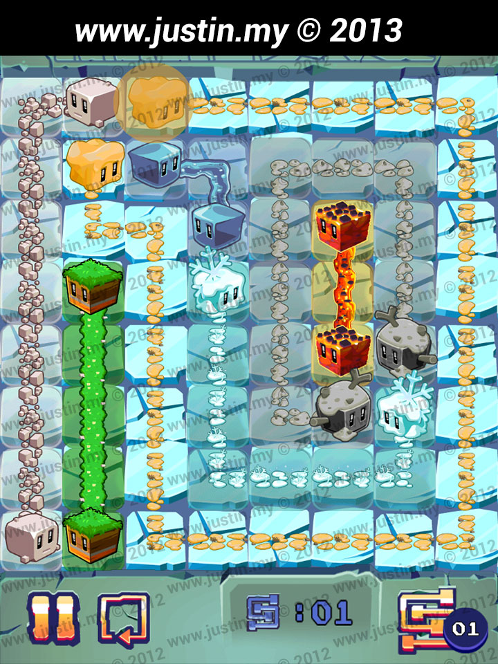 Lost Cubes 8x8 Level 24
