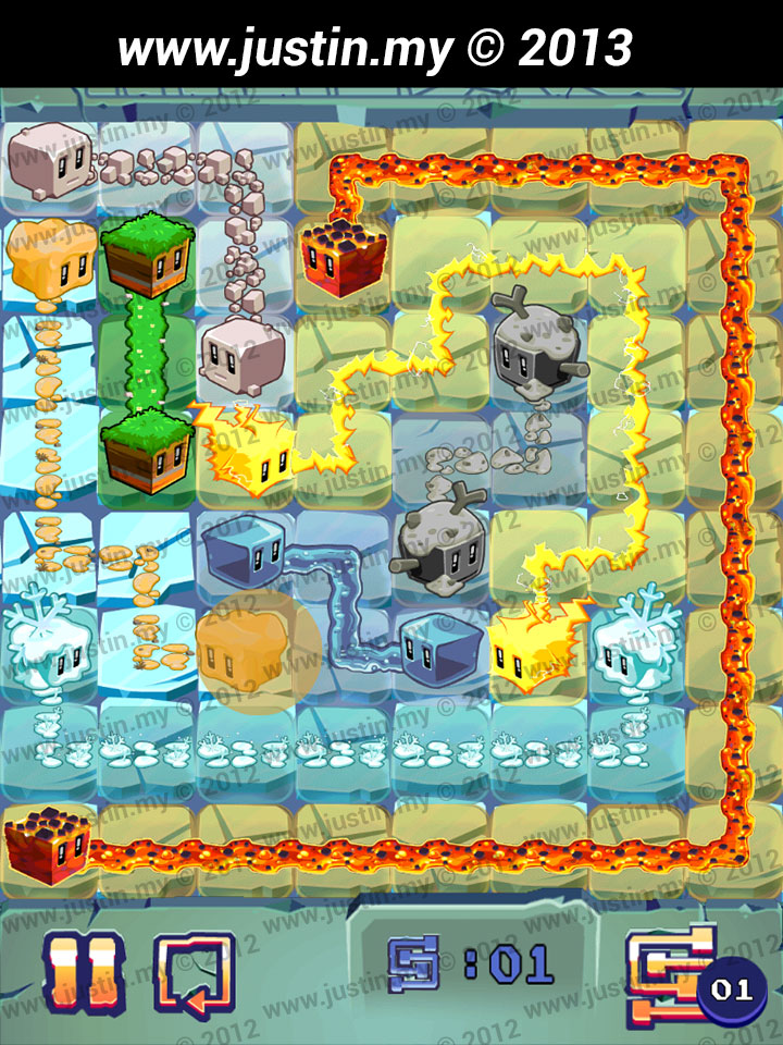 Lost Cubes 8x8 Level 26