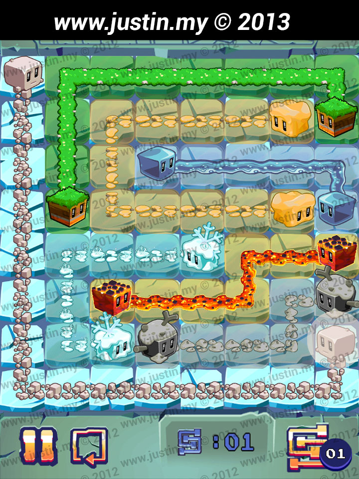 Lost Cubes 8x8 Level 4