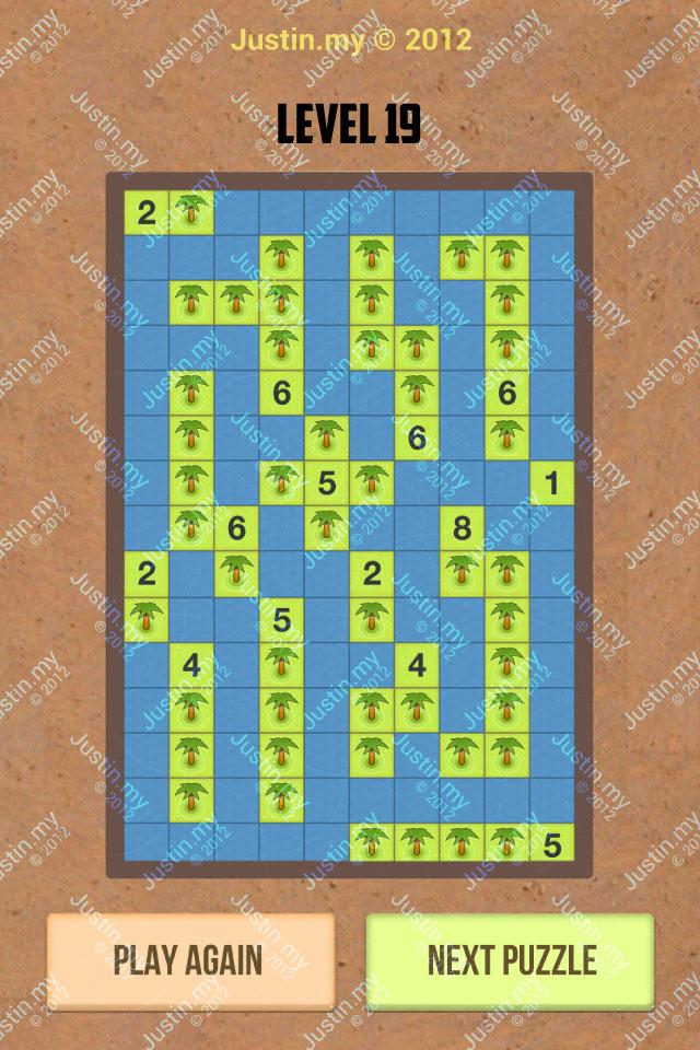 Number Island Nurikabe Master Pack Level 19