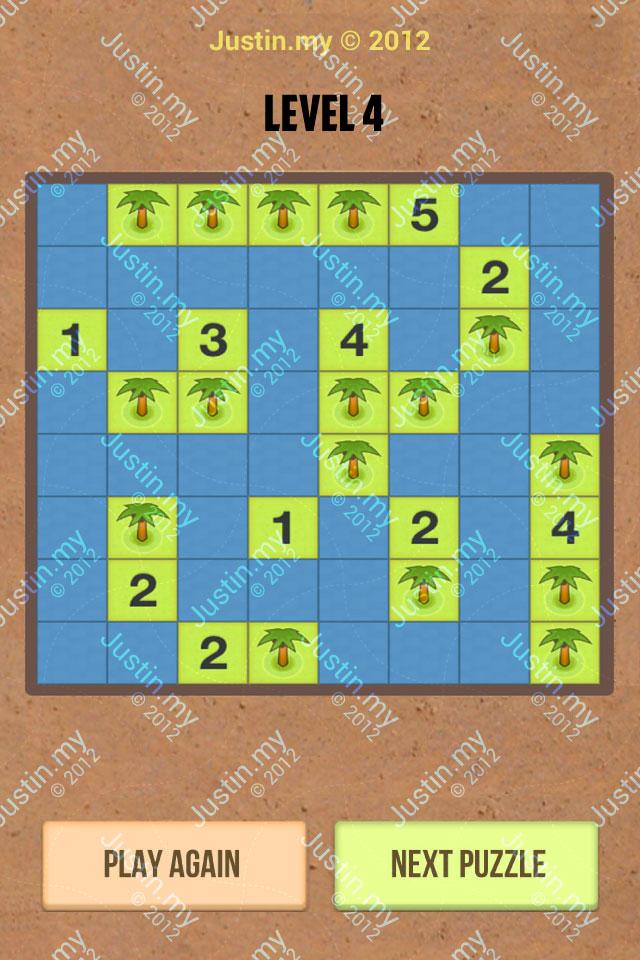 Number Island Nurikabe Master Pack Level 4