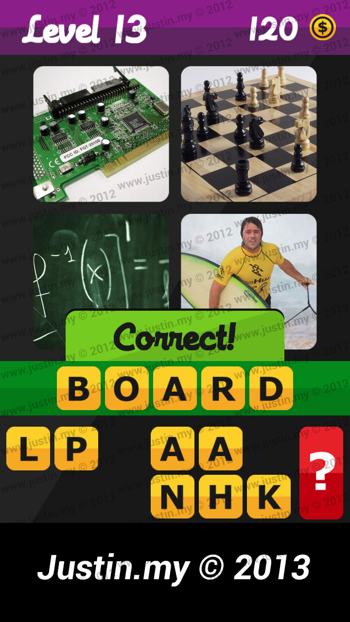 What's the Word Answers Level 13