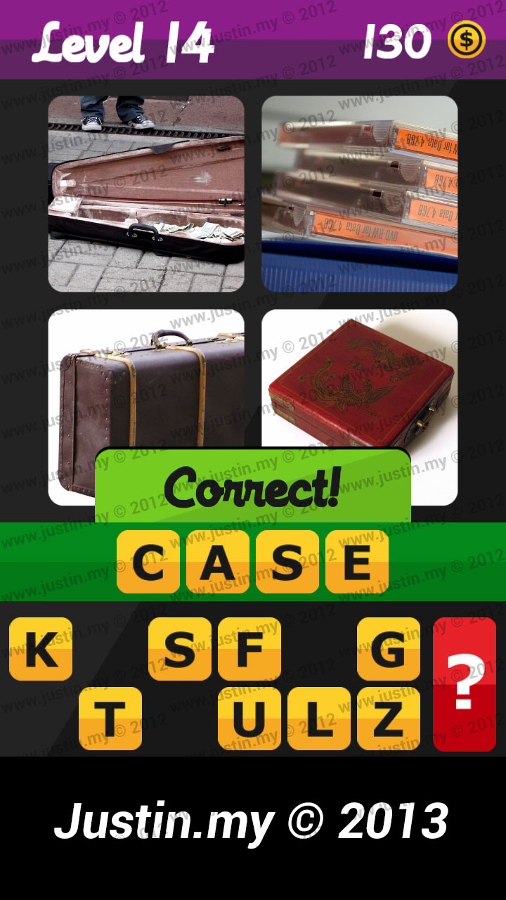 What's the Word Answers Level 14