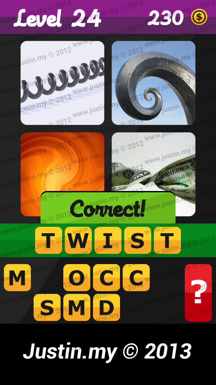 What's the Word Answers Level 24