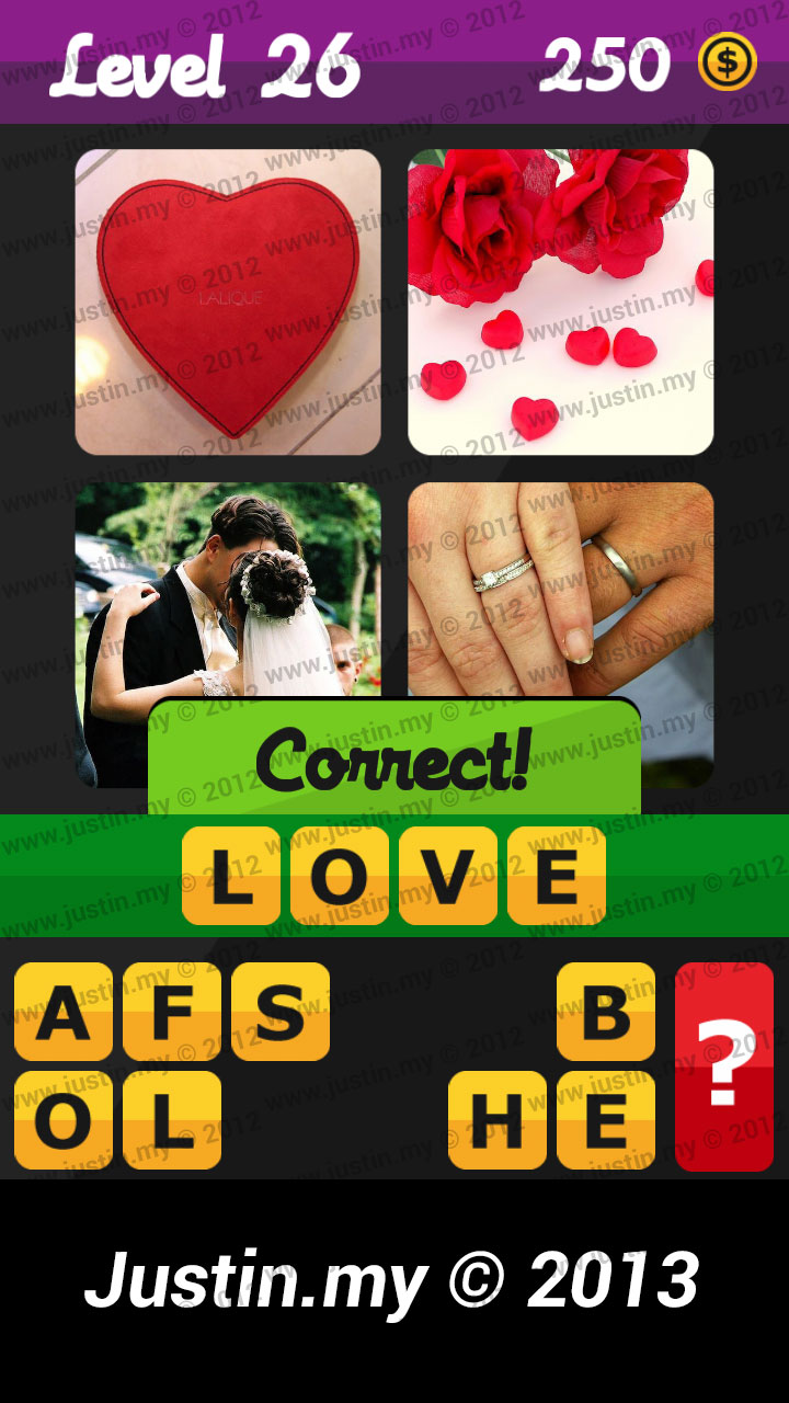 What's the Word Answers Level 26