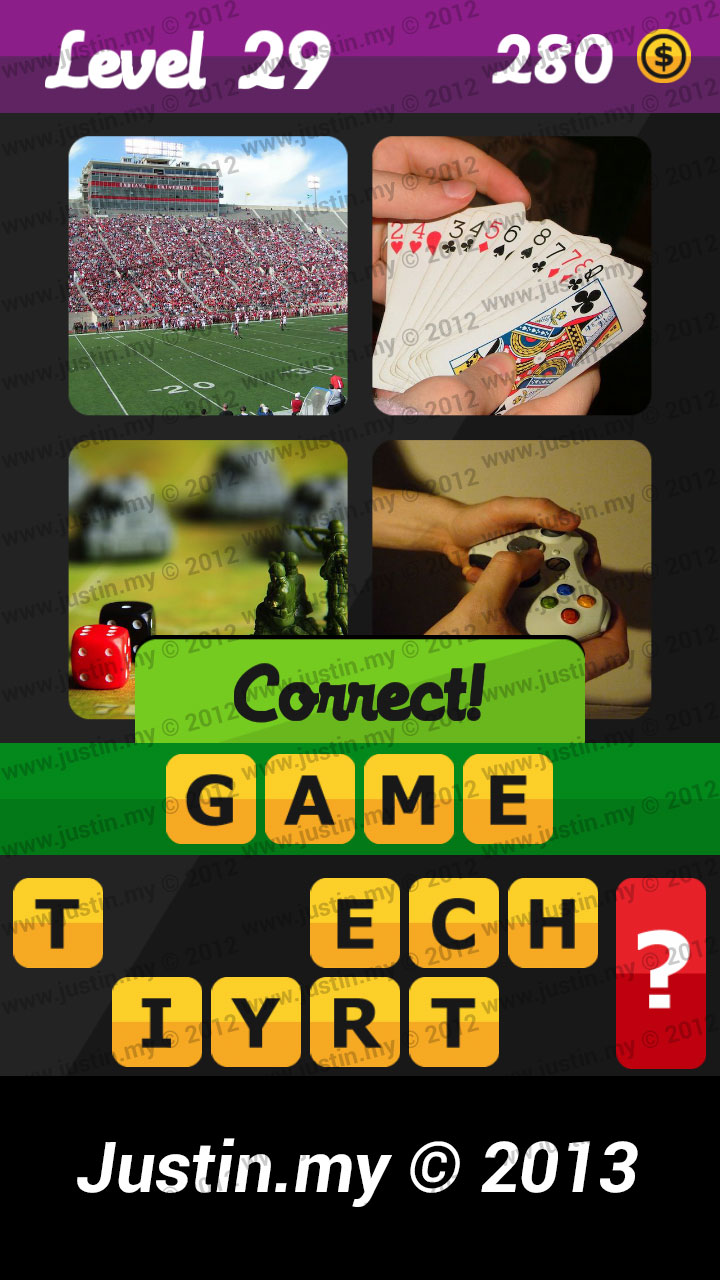 What's the Word Answers Level 29