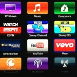 Apple TV update : Vevo, Disney, Weather Channel & Smithsonian