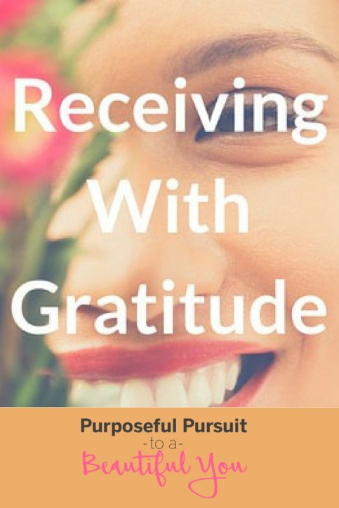 Receiving the Manifestation with Gratitude