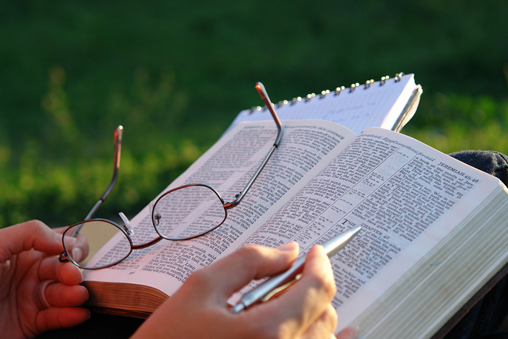 Image result for picture of someone studying the bible